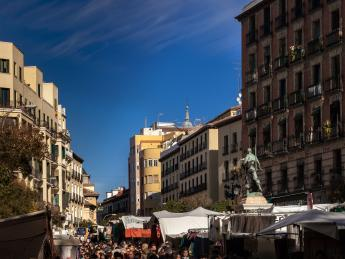 El Rastro - Madrid