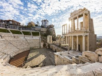 9672+Bulgarien+Plovdiv+Theater_von_Philippopolis+GI-509836582