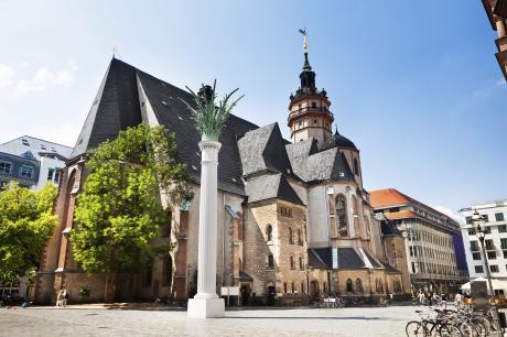 Deutschland: Leipzig - Nikolaikirche