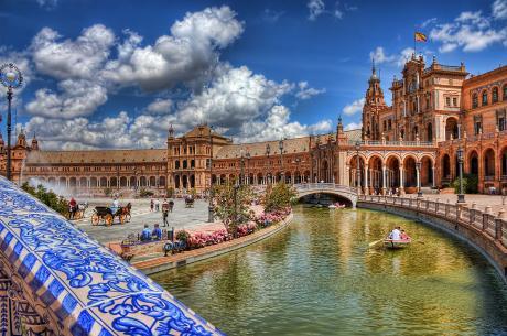 48 h Sevilla: Spanien-Sevilla-Plaza-Espanha