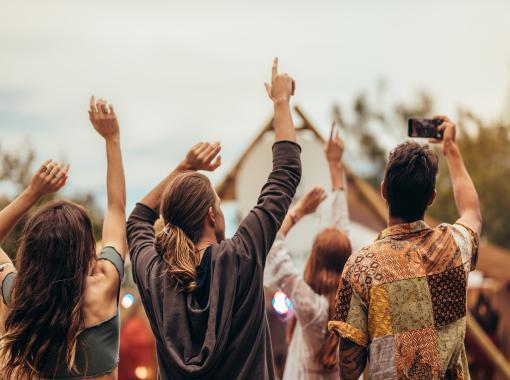 Festival+Party+Menschen+Hippie+Tanzen