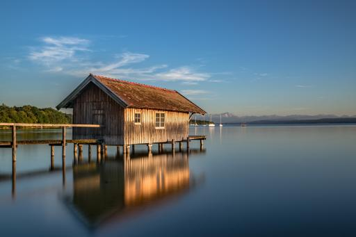Ammersee - Ammersee in Oberbayern