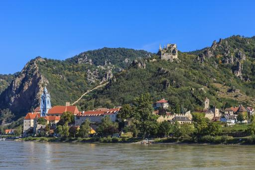 Schloss Burgruine Dürnstein