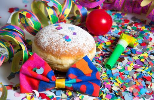 Infografik: Karneval Pfannkuchen