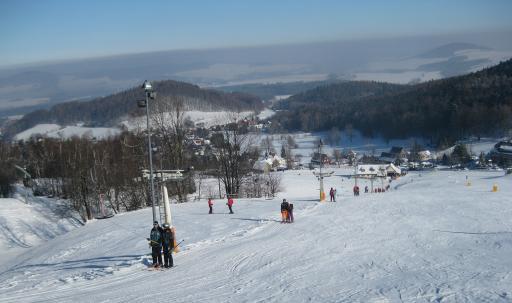 Skigebiet Lausche im Zittauer Gebirge