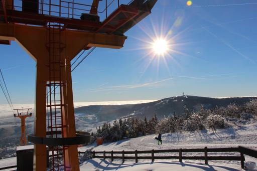 Skigebiet Fichtelberg Seilbahn