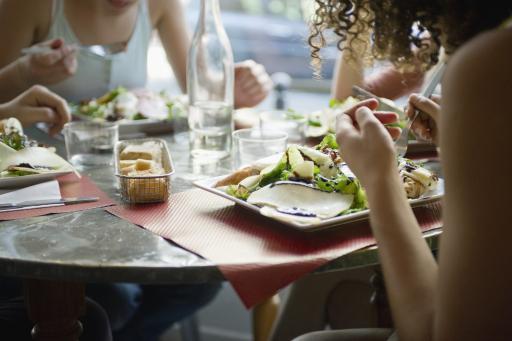 Frankreich: Restaurant - Essen