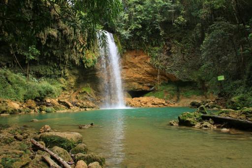 Dominikanische Republik Salto Socoa Wasserfall