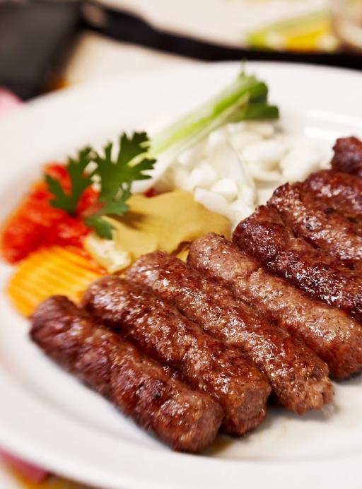 Kroatien: Essen Cevapcici