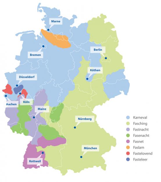 Köln Karte Deutschland.Die 11 Närrischsten Karnevalshochburgen Check24