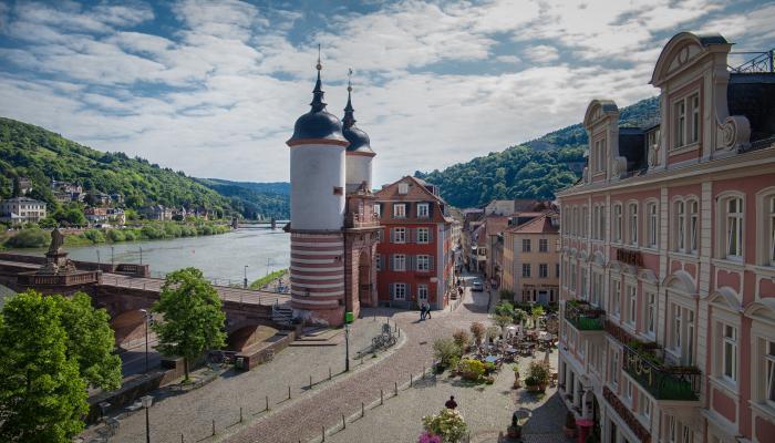 Old Bridge Gate, Altstadt - Heidelberg