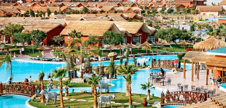 Hotel Jungle Aqua Park Resort Hurghada In Hurghada Buchen