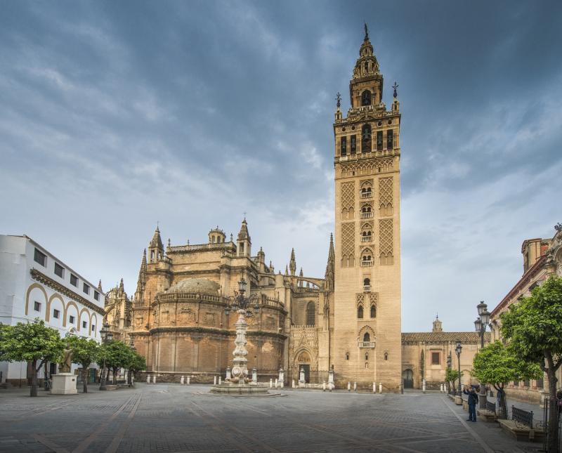 48 h Sevilla: Spanien-Sevilla-Kathedrale-Giralda