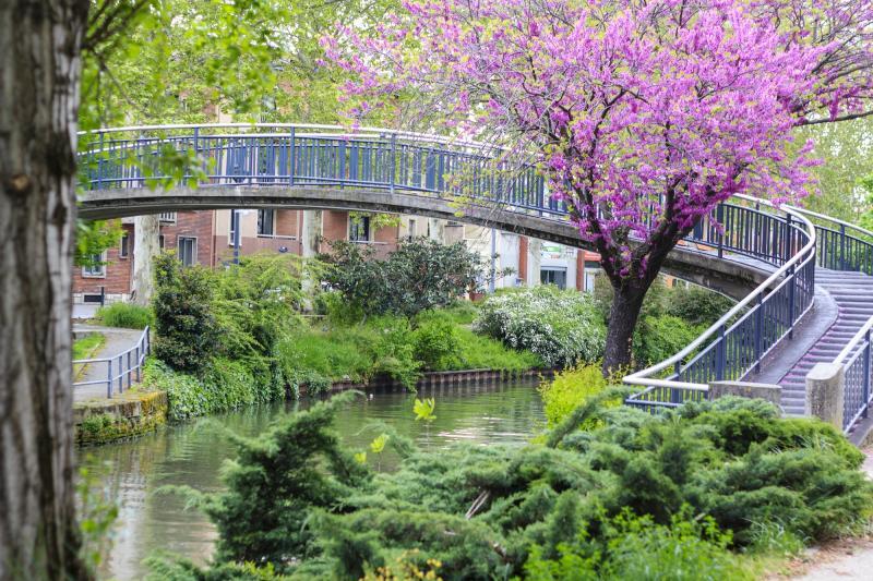 Frankreich: Toulouse - Canal du Midi